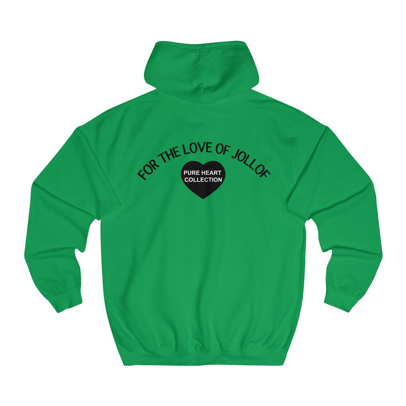 For the love of Jollof Unisex Hoodie