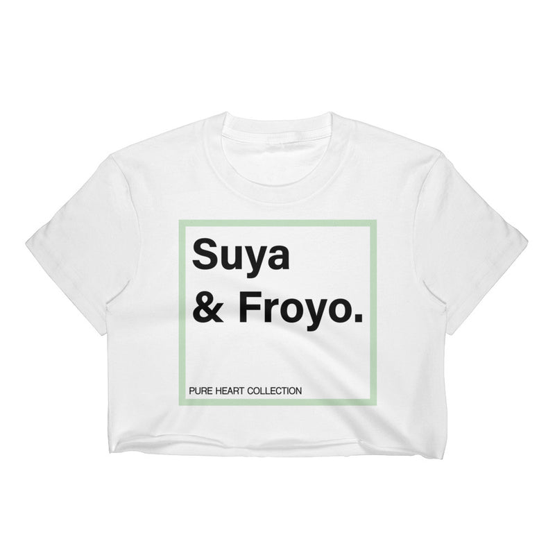 Suya & Froyo Women's Crop Top