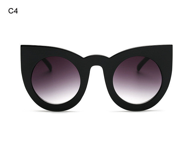 Chunky Cat Eye Sunglasses