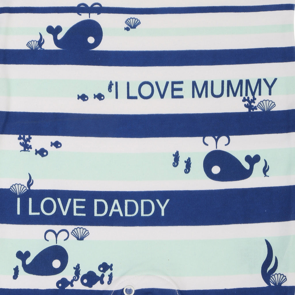 JusCubs I Love Mummy Printed Romper
