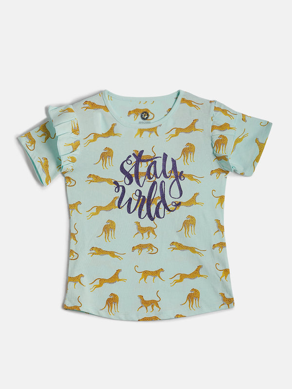 JusCubs Stay Wild Fashion T-Shirt