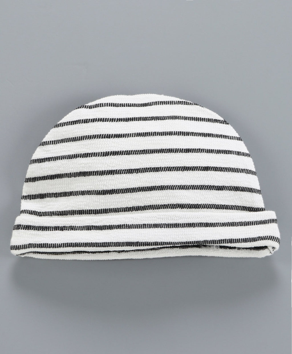 JusCubs Grey Stripe Patch Work With Cap