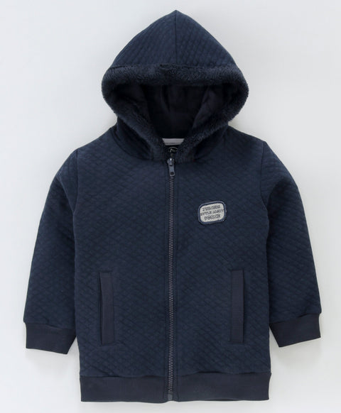 JusCubs Boys Quilted Hooded Jacket