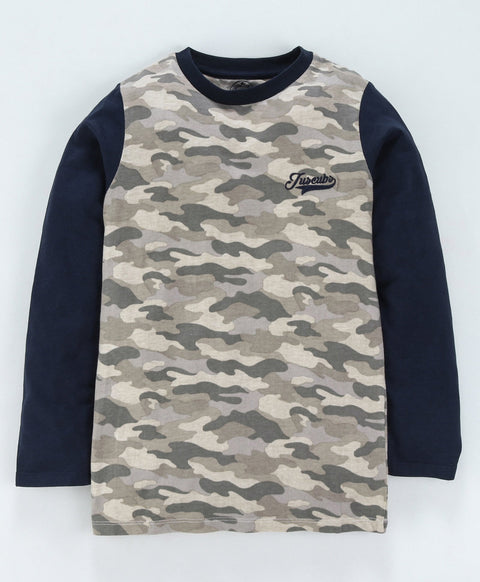 Jus Cubs Boys Camouflage - T-Shirt