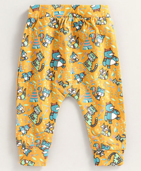 JusCubs Boys Printed Pant