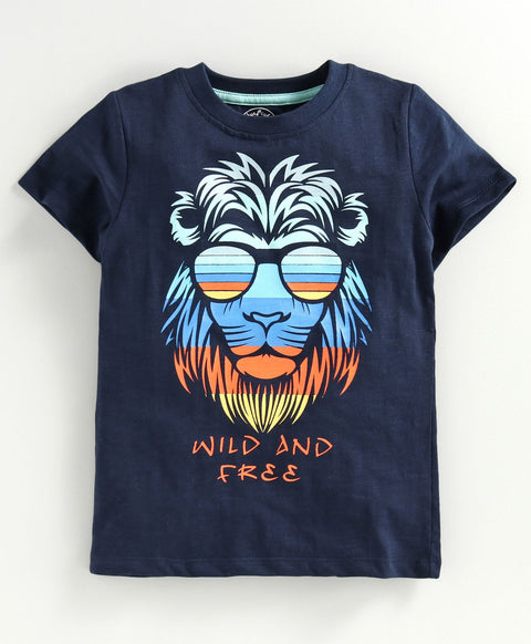 JusCubs Boys Wild And Free T-Shirt