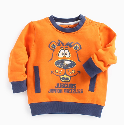 JusCubs Printed Sweatshirt