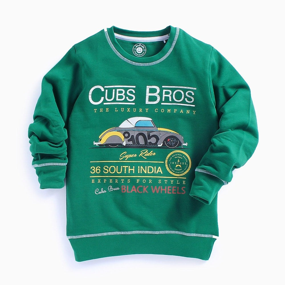 JusCubs Printed Sweatshirt For Olders