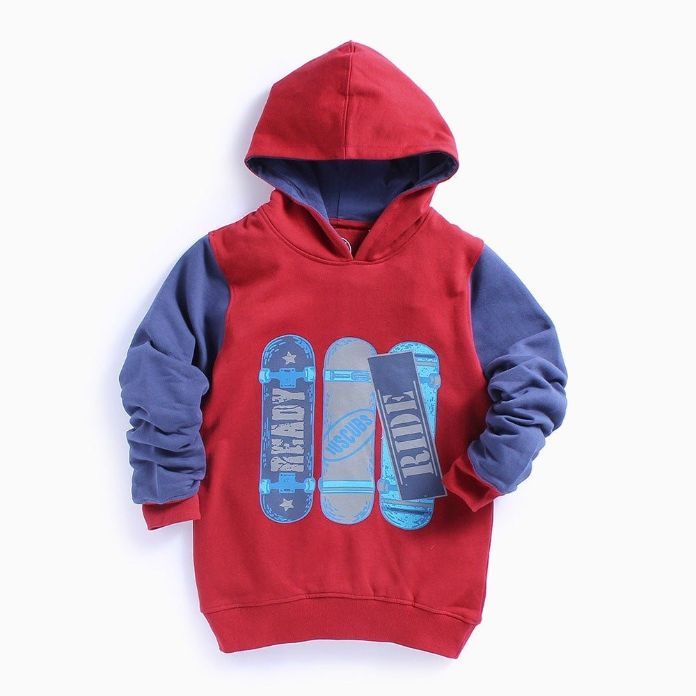 JusCubs Printed Hoodie for Olders