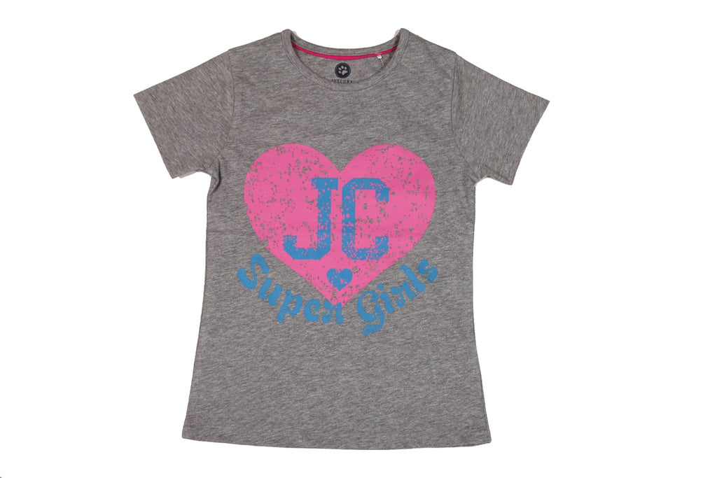 JusCubs Girls Printed T-Shirt