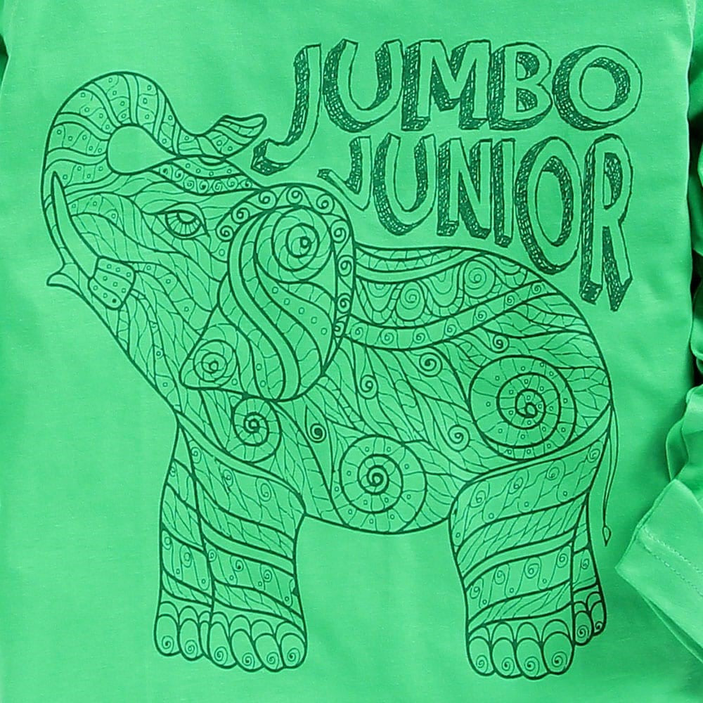 JusCubs Boys junior jumbo Full Sleeve T-shirt