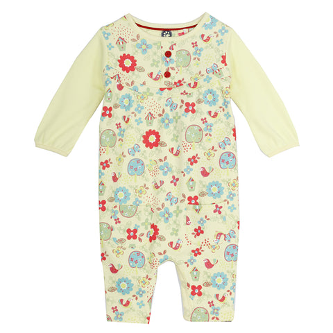 Flower Printed baby dress