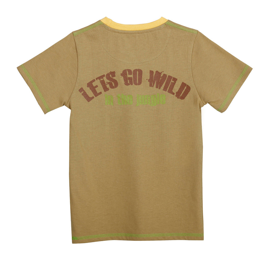 JusCubs Jungle Lets Go Wild T-Shirt