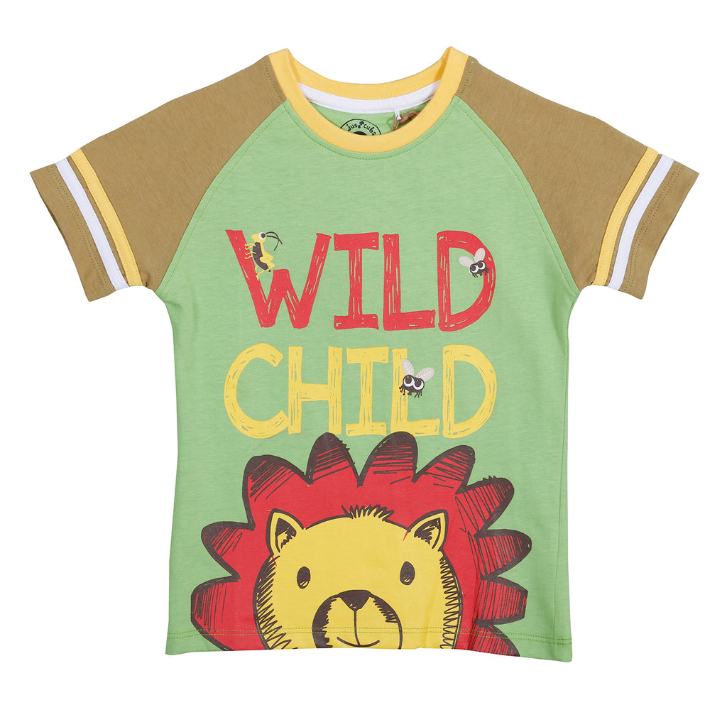 JusCubs Wild Child Printed T-Shirt