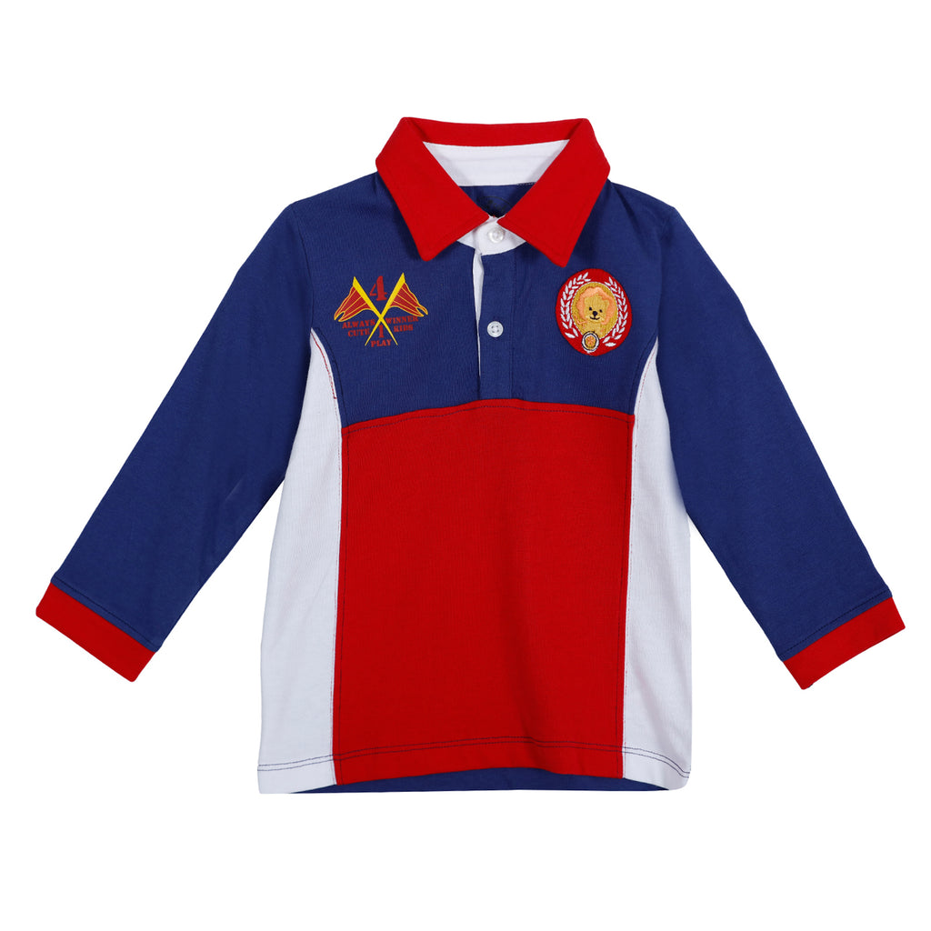Jus Cubs Boys Fashion Polo T-Shirt