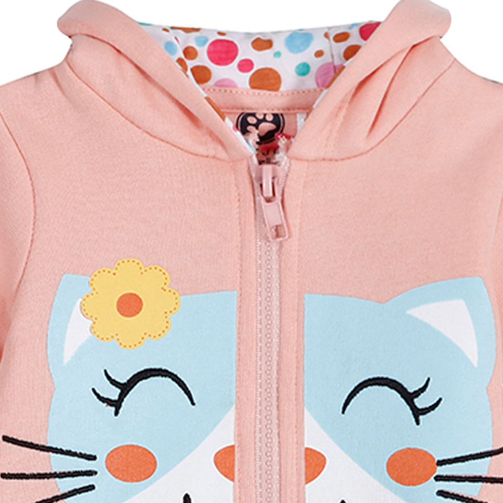 JusCubs Kitty Hoody Romper