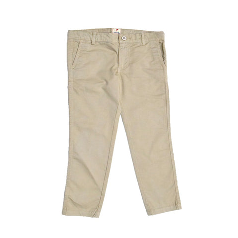 JusCubs Boys Beige Woven Trousers