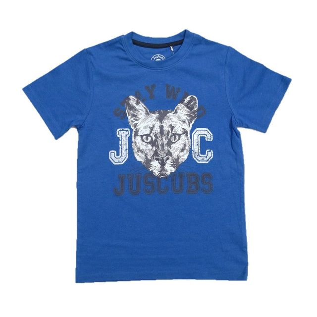 JusCubs Boys Stay Wild Print T-Shirt