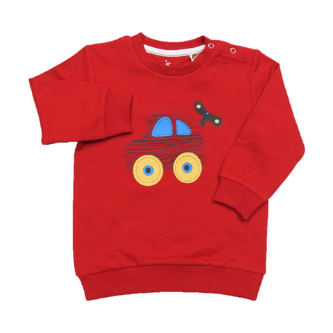 Cuby Clubz Art Toy Print Sweatshirt