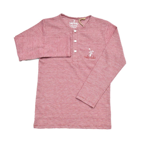 Cuby Clubz Embroidery Boys Full Sleeve T-Shirt