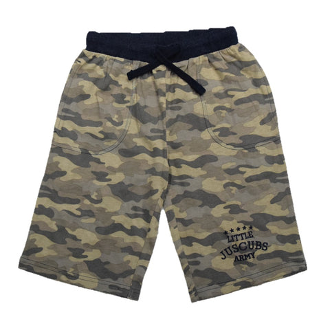 JusCubs Little Army Shorts