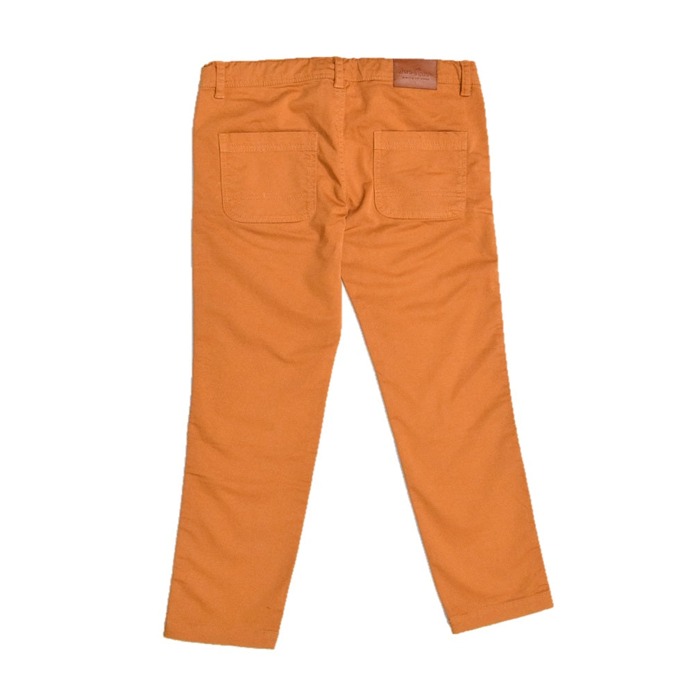 JusCubs Boys Orange Woven Trousers