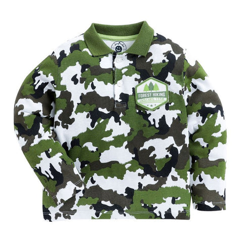 juscubs green camoflage tshirt
