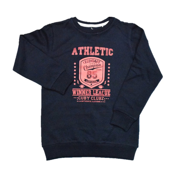 Cuby Clubz Athletic Winter League Print Sweatshirt