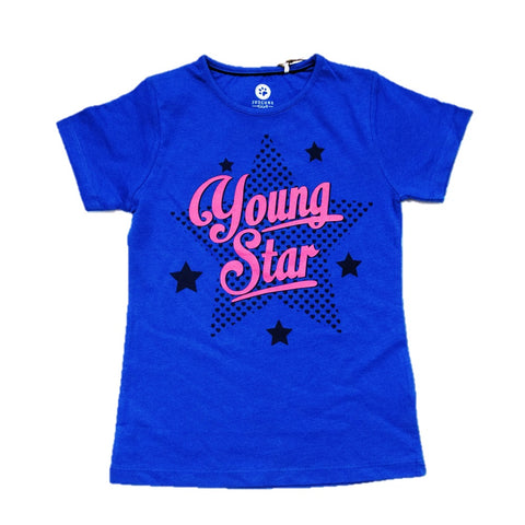 JusCubsYoung Star Print T-Shirt