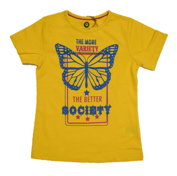 JusCubs Girls The Better Society  T-Shirt