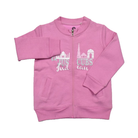JusCubs Girls Pride of India Places Jacket - Pink