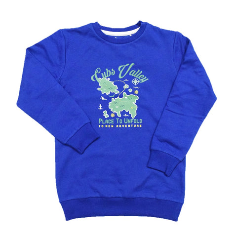 Cuby Clubz Cubs Valley Print Sweatshirt