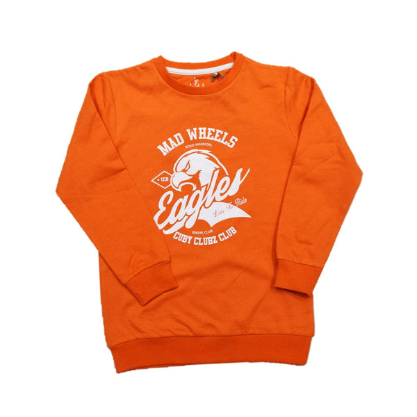 Cuby Clubz Eagles Print Sweatshirt