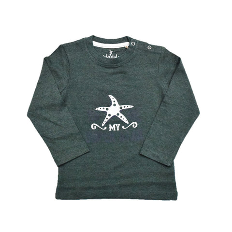 Cuby Clubz My Star Print Full Sleeve T-Shirt