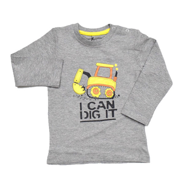Cuby Clubz I Can Dig It Print Full Sleeve T-Shirt