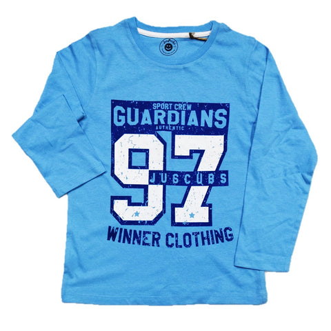 JusCubs Boys Guardians 97 Print Full sleeve T-Shirt