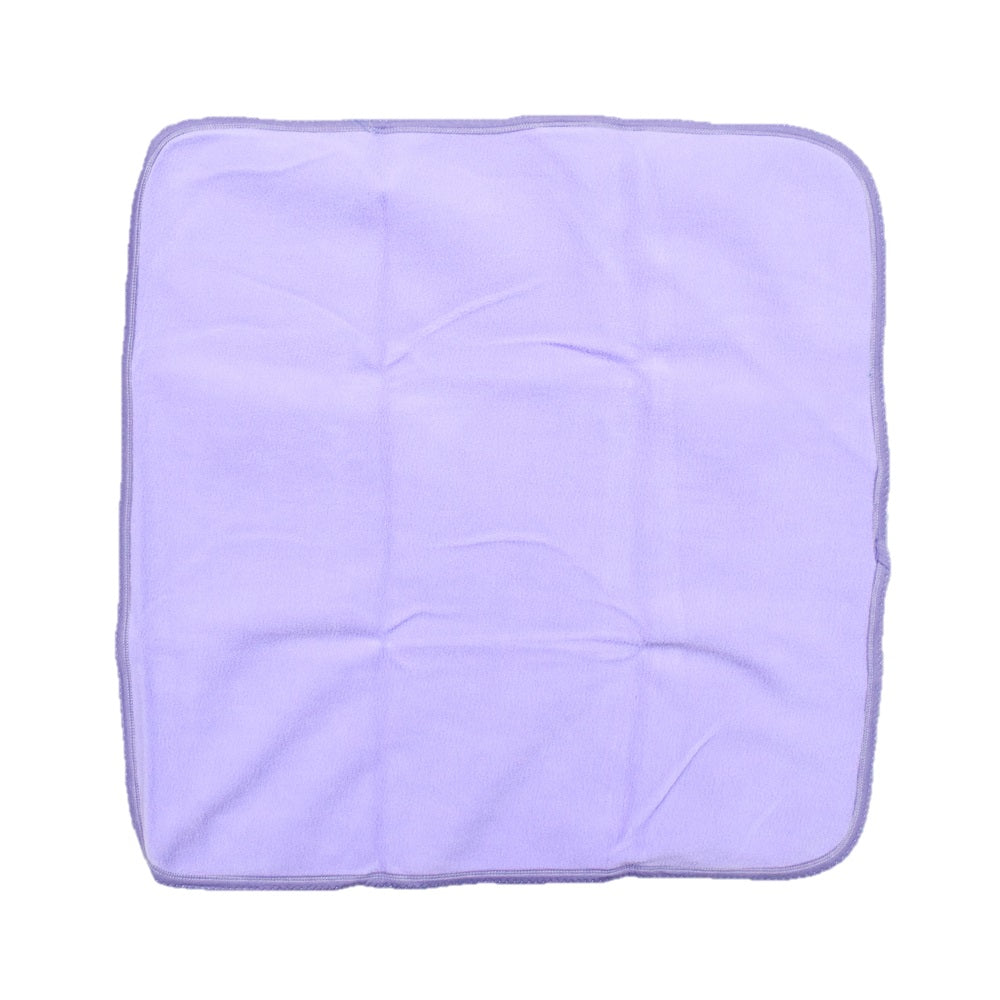 JusCubs Super Baby Wrap Combination of Fast Dry & Baby Wrap Hooded - Color Balls - Purple