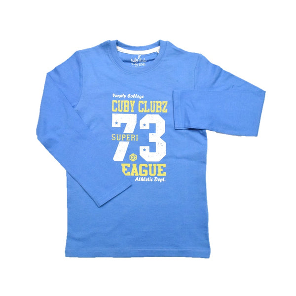 Cuby Clubz Super 73 League Print Full Sleeve T-Shirt