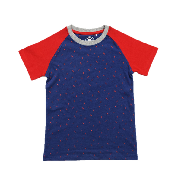 JusCubs Boys Basic Raglan Sleeve  T-Shirt