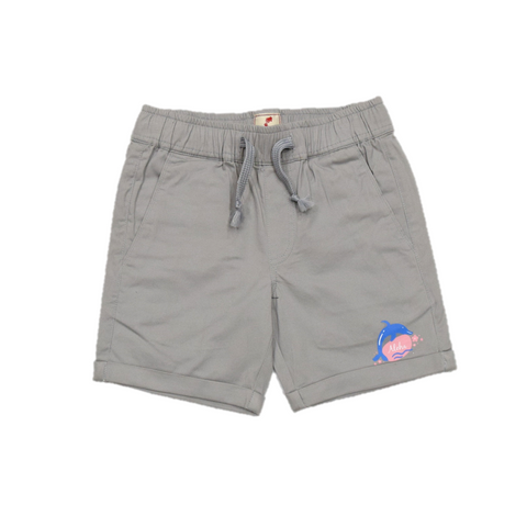 JusCubs Woven Fashion Grey Shorts