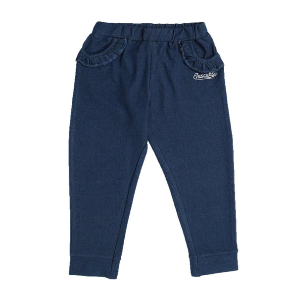 Juscubs Premium Girls  Navy Denim Pants