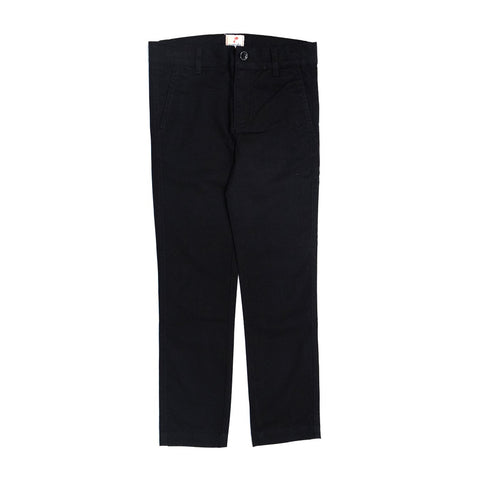 JusCubs Boys Black Woven Trousers