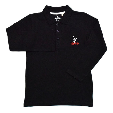 Cuby Clubz  Boys Full Sleeve Polo T-Shirt