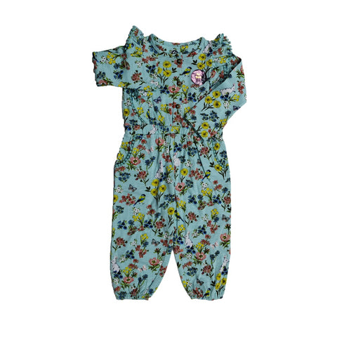 Jus Cubs Girls Fashion AOP JumpSuit