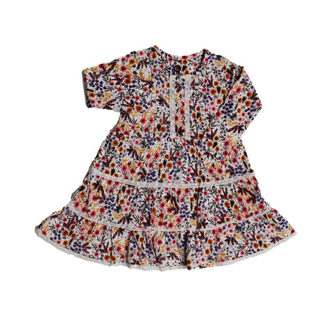 Jus Cubs Girls Fashion AOP Frock