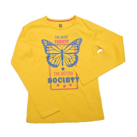 JusCubs Girls The Better Society Full Sleeve T-Shirt