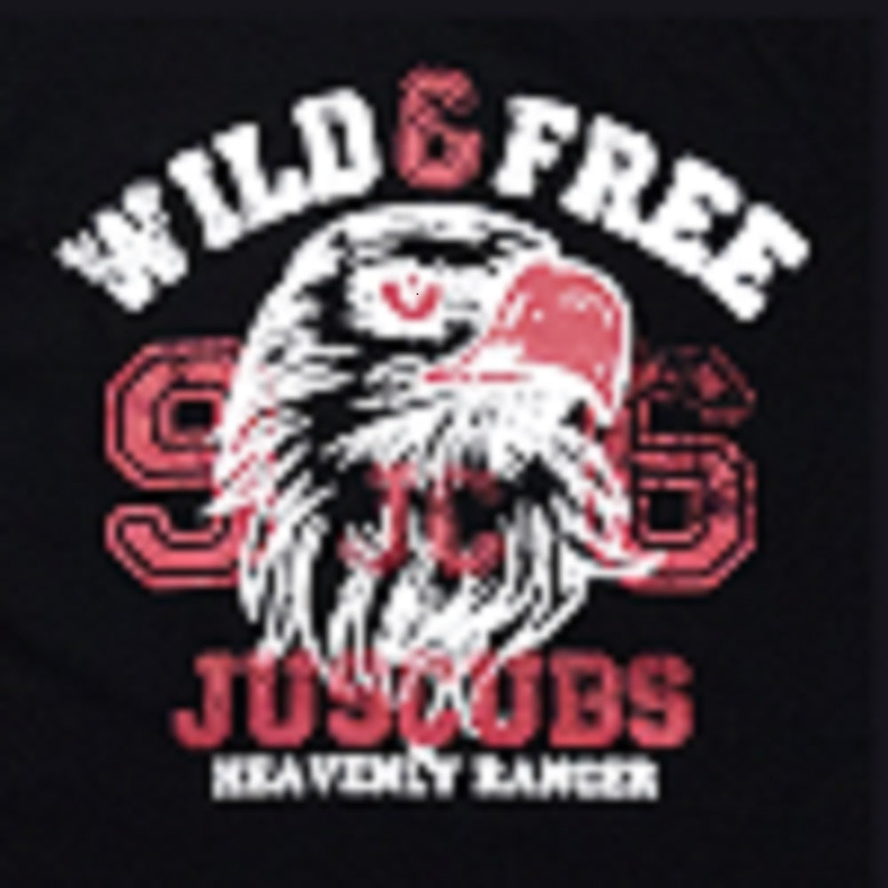 JusCubs Boys Wild & Free Print Full Sleeve T-Shirt