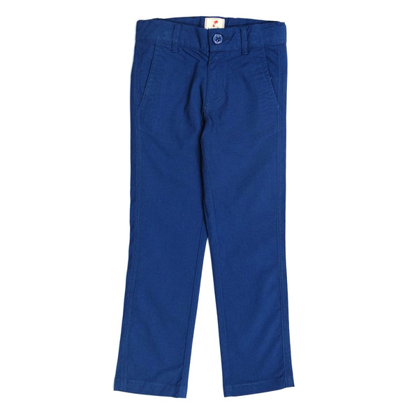 JusCubs Boys Blue Woven Trousers