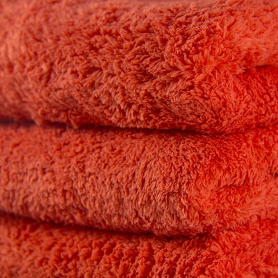 Fluffy Finish Red Microfiber (pack de 3)