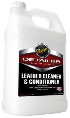 Leather Cleaner & Conditioner (Gallon)